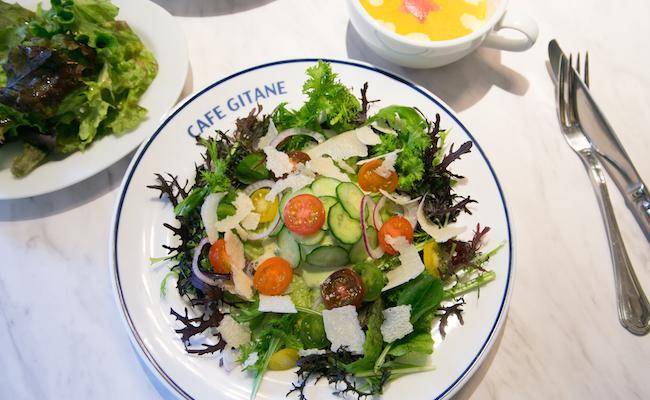 恵比寿『CAFÉ GITANE(カフェ ジタン)』のアボカドトースト「モロッカン」
