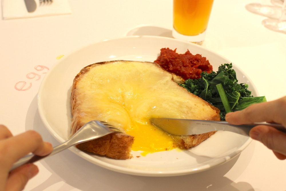 おいしい朝食から始まる1日。NYからやってきた卵料理専門店『egg』