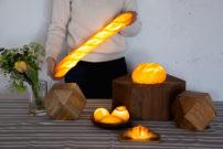 本物のパンから生まれたおいしい灯り「パンプシェード」