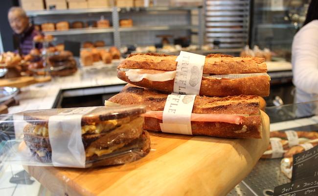 門前仲町『Truffle BAKERY(トリュフベーカリー)』のサンドイッチ