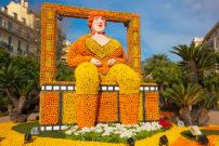 黄色とオレンジのフォトジェニックな世界!マントンのレモン祭が今年も開催