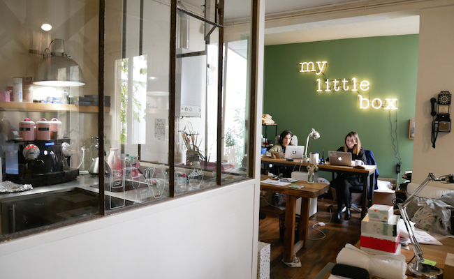 『My Little Paris』のオフィス