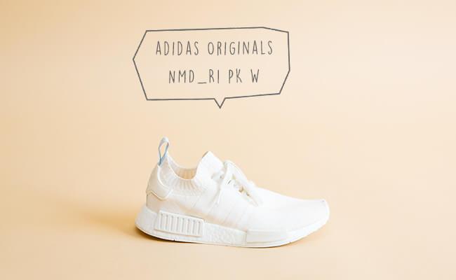 adidas Originals/NMD_R1 PK W(ランニングホワイト)