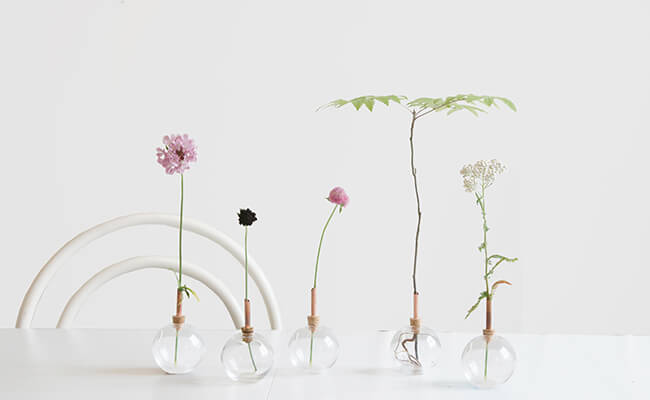 Comfota/scandinaviaform(スカンジナビアフォルム)一輪挿し Glasilium Vase