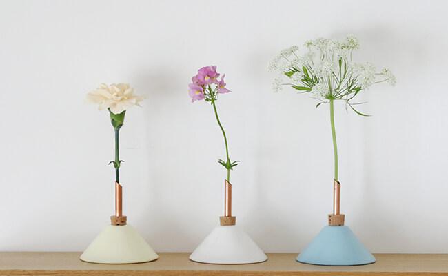 Comfota/scandinaviaform(スカンジナビアフォルム)一輪挿し Consilium Vase(全3色)