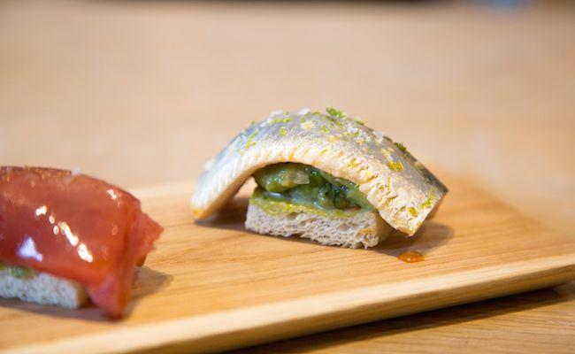 パンのお寿司「15℃ SUSHI」