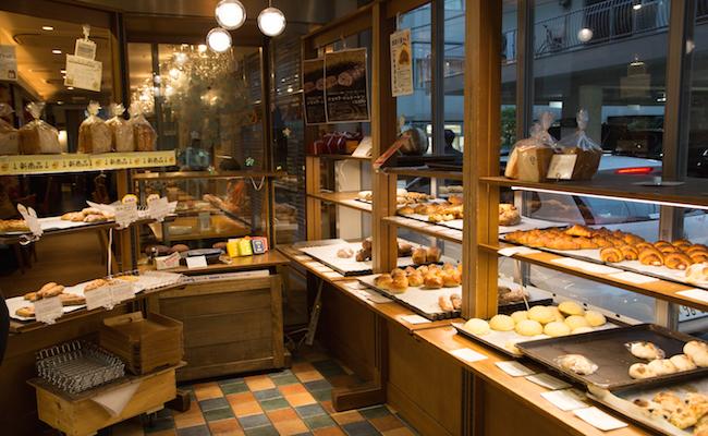 『ラトリエ・デュ・パン』の店内