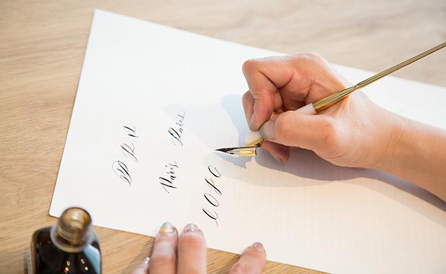 自分の文字を探す楽しさ!モダンカリグラフィーをはじめてみよう