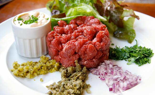 フランス人は赤身肉がお好き!?赤身肉のタルタル