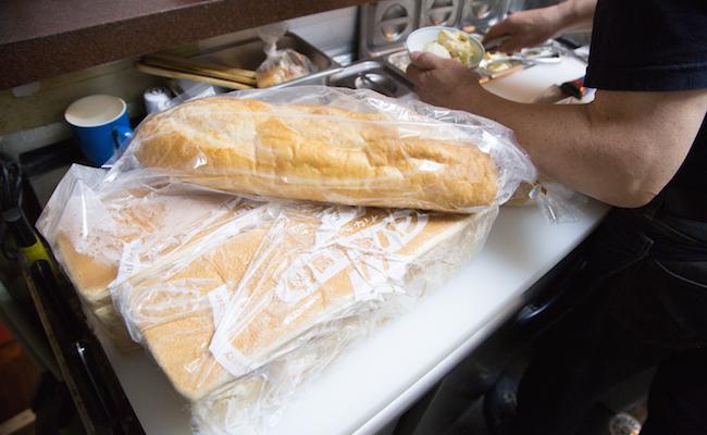 『喫茶アメリカン』のサンドイッチに使う食パン