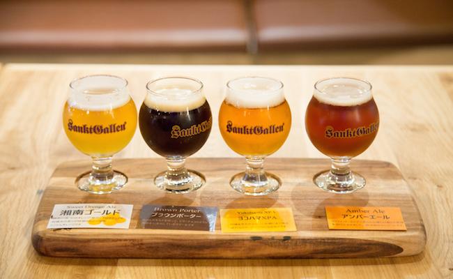 「選べる4種のビール飲み比べ」