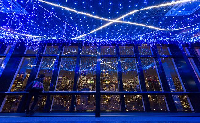 東京タワーに天の川が登場