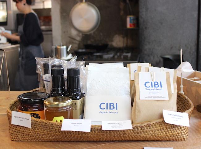 千駄木『CIBI』にはショップスペースもあります