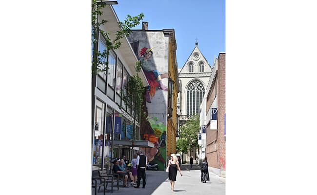 新旧アート溢れるバロックの都、アントワープを街歩き