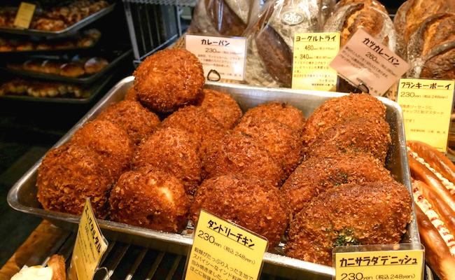 松戸のパン屋『Zopf(ツオップ)』の「カレーパン」