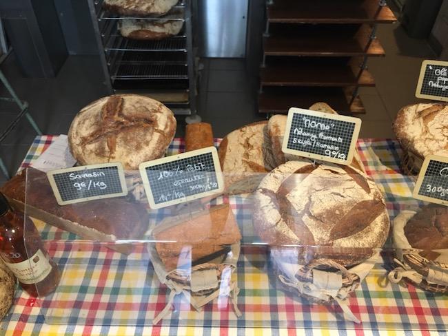 『LE BRICHETON』のBIOパン