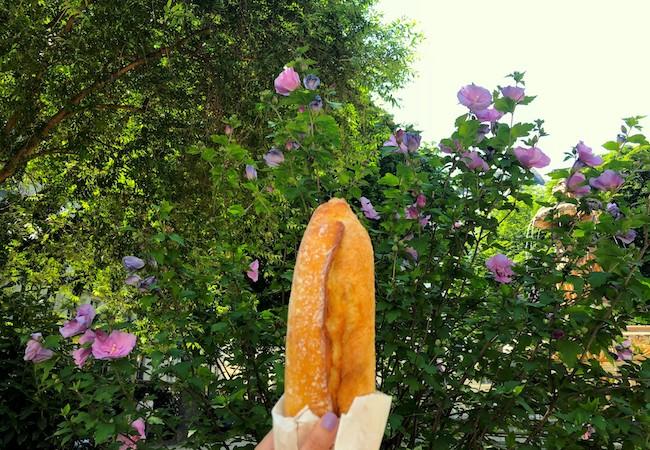 パンとパリの街