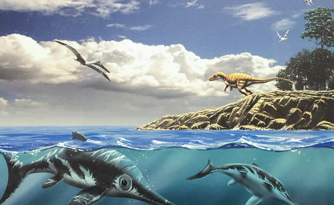 ノルマンディーには恐竜がいた!?恐竜博物館『PALEOSPACE』へ