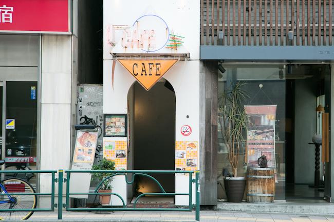 『Cafe AALIYA(カフェ アリヤ)』の外観