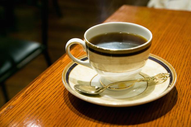 『Cafe AALIYA(カフェ アリヤ)』の特選ストレートコーヒー