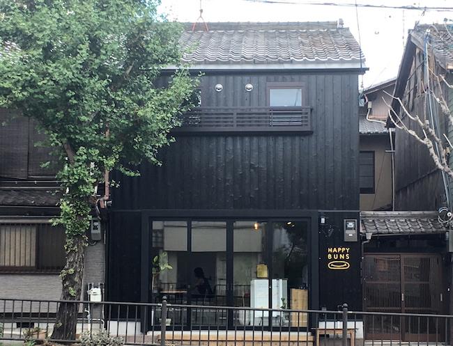 京都『HAPPY BUNS(ハッピーバンズ)』の外観