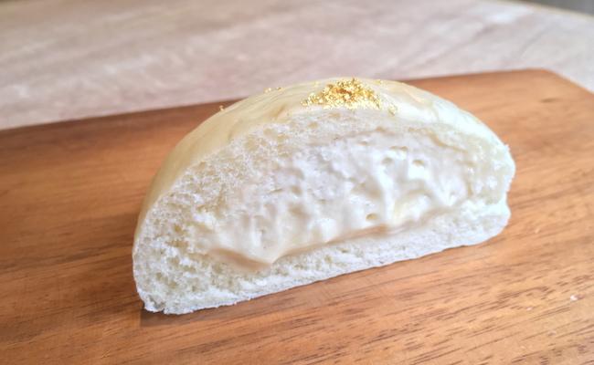 京都の『クリームパン専門店 キンイロ』の「kin・iro 金色」