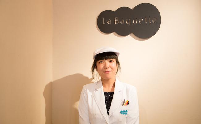 『La Baguete(ラ・バゲット)』新宿御苑前店の店長西川さん
