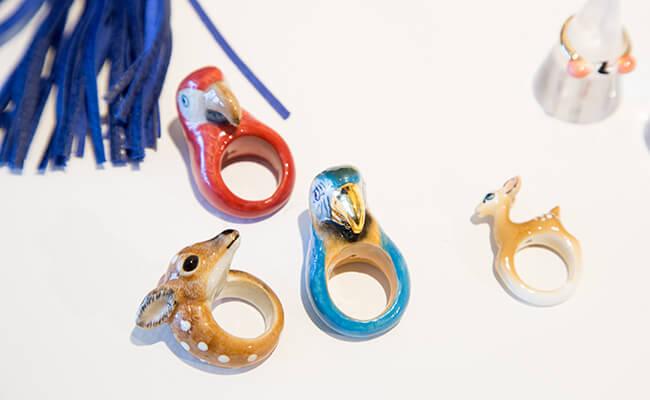 陶磁器素材の動物モチーフがユニーク&キュート!フランス発のアクセサリーブランド「NACH」