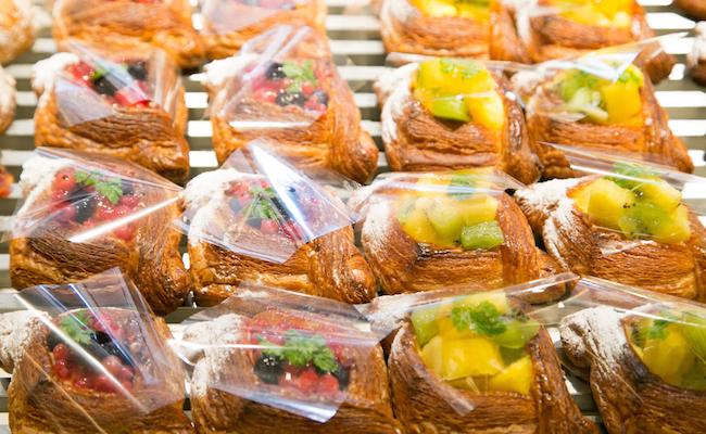 自由が丘『baguette rabbit(バゲット ラビット)』の季節のフルーツで作るデニッシュ
