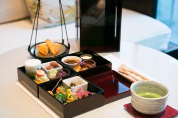 『パレスホテル東京』のお重のアフタヌーンティーで過ごす午後