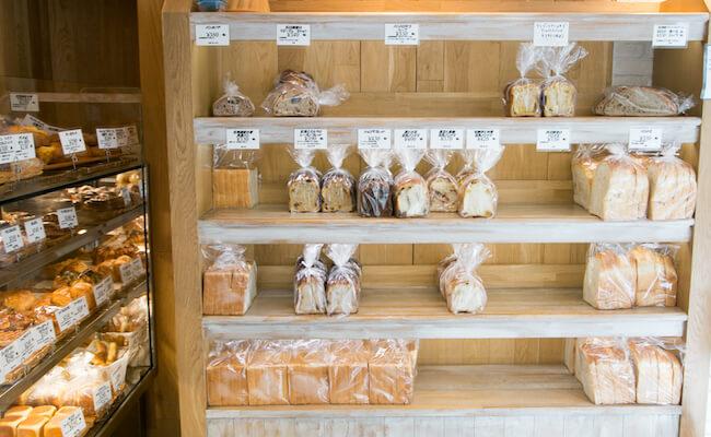 食パンの種類も豊富な麻布十番『pointage(ポワンタージュ)』