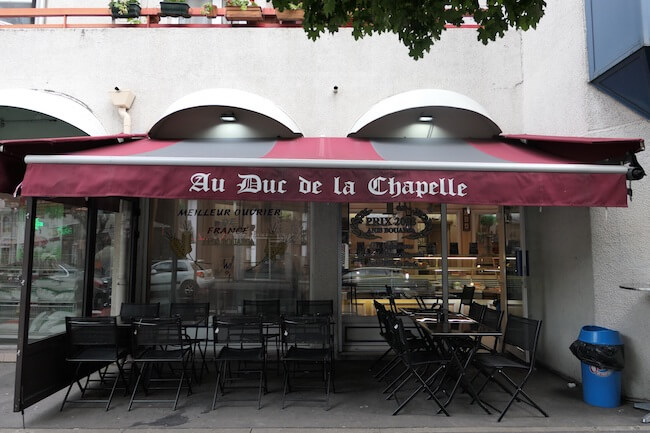 『Au Duc De La Chapelle(オ デュック ドゥ ラ シャペル)』