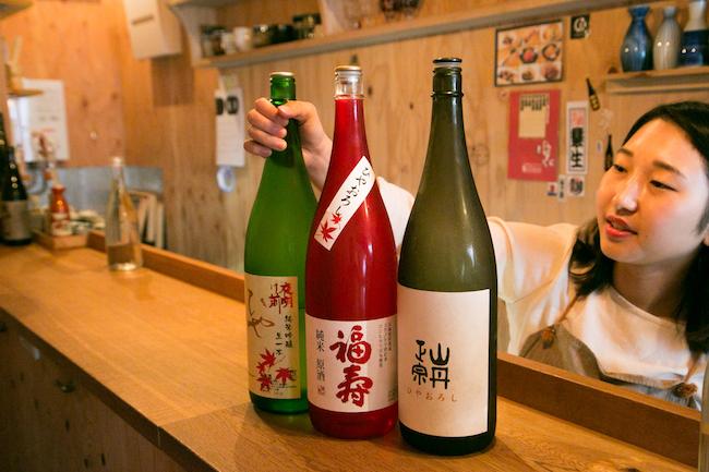 人形町『3bis(トワビス)』の日本酒は女将たちがセレクト