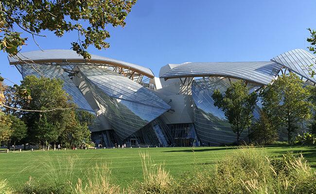 『ルイ・ヴィトン美術館(Fondation Louis Vuitton)