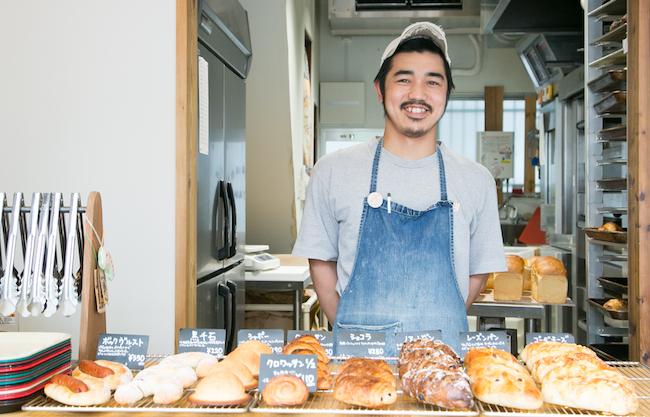 大森のパン屋BAKEMAN(ベイクマン)の店主・中込さん
