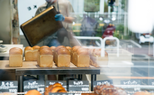 大森のパン屋BAKEMAN(ベイクマン)の食パン