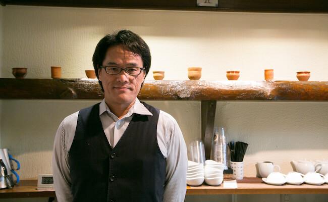 『chai break(チャイブレイク)』の店主・水野さん