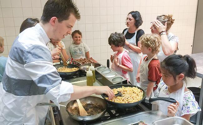 パリで大人気!子どもと一緒に楽しむフランス料理教室