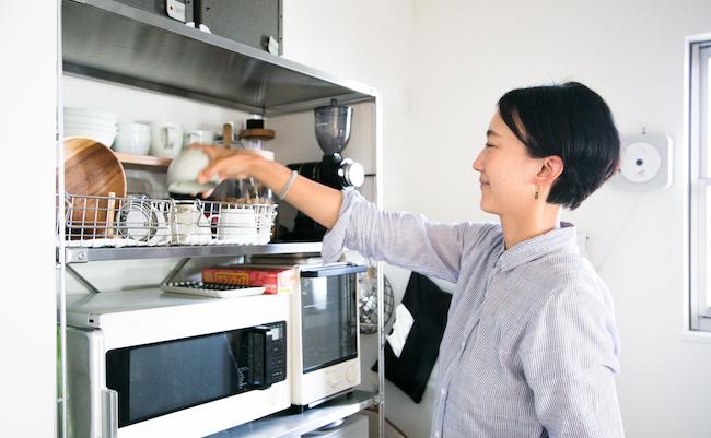 本多さんに教わるキッチン収納