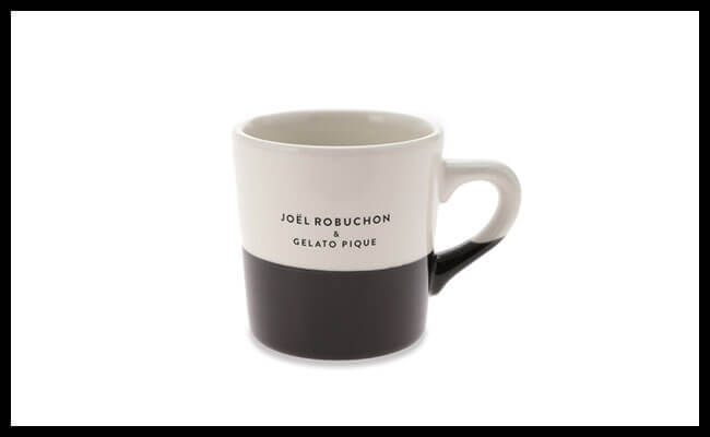 【Joël Robuchon & gelato pique】マグカップ