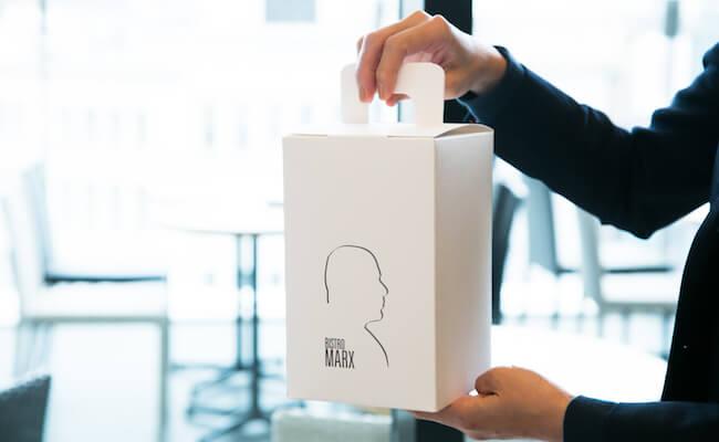 『BISTRO MARX(ビストロ・マルクス)』のブリオッシュの箱