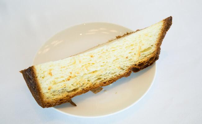 『BISTRO MARX(ビストロ・マルクス)』のブリオッシュをトースト