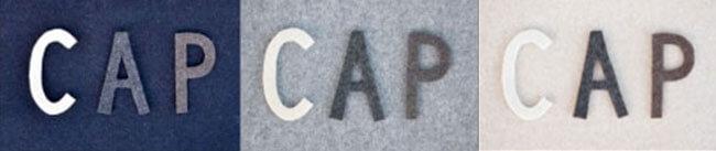 冬にぴったりなメルトン生地!『CAPS』のオリジナルベースボールキャップ