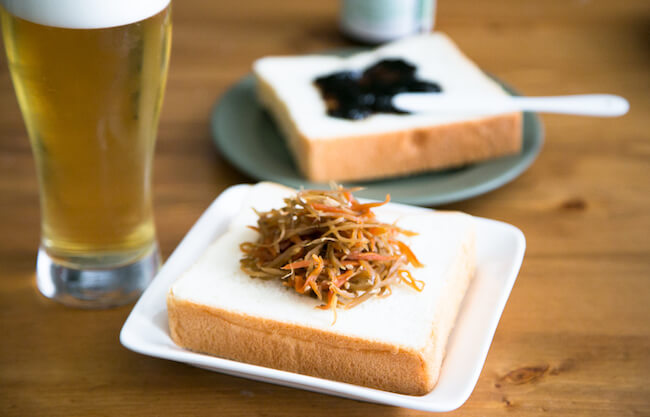 和風のおかずとも相性がいい『銀座に志かわ』の食パン