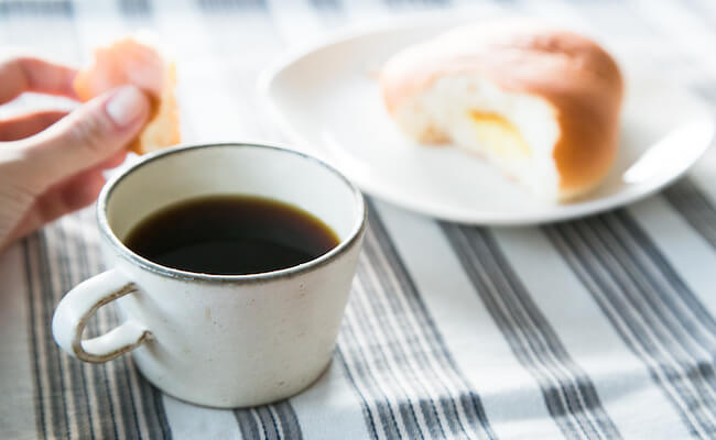 ぱんじかんのコーヒーと、クリームパン