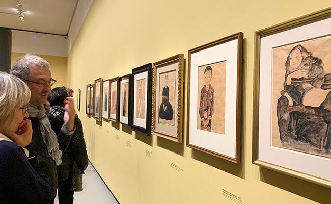 20世紀を代表する現代芸術家の作品が集結!バスキアとエゴン・シーレの展覧会