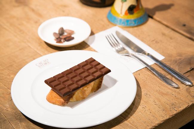 代々木公園『CACAO STORE』のトーストショコラ