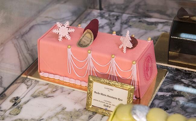 パリの老舗パティスリー『ラデュレ』の今年のクリスマススイーツは