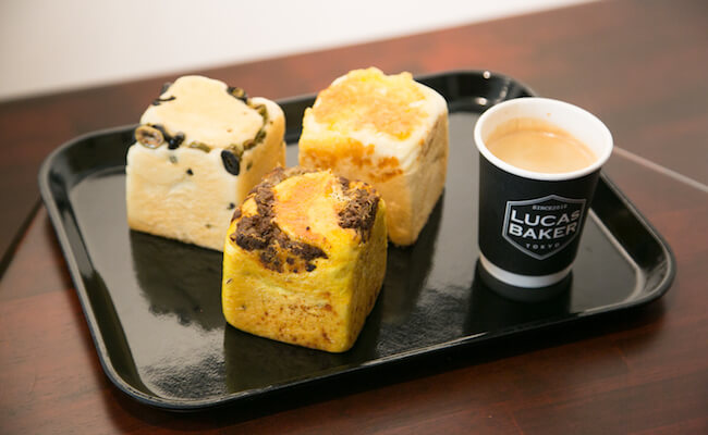 『LUCAs BAKER TOKYO(ルーカスベイカートーキョー)』のキューブパン