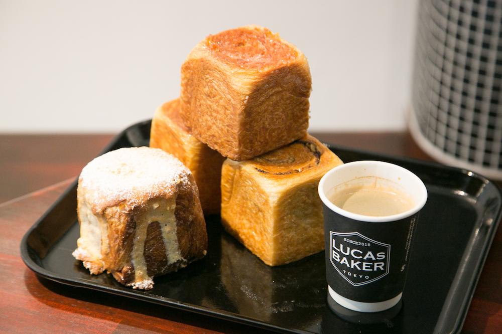 四角いクロワッサン!?自由が丘『LUCAs BAKER TOKYO』のキューブパン